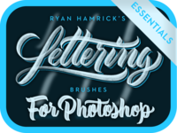 Lettering Brushes for Photoshop (Essentials)