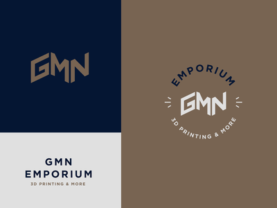 GMN Logo Option 1 icon branding design type design wordmark logo branding brand design 3d logo brand