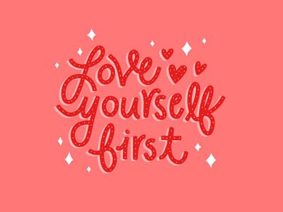 Just remember to handlettering hand drawn type design illustration typography valentines day love yourself heart valentines