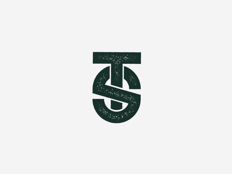 Updated Personal Logo icon green branding agency personal branding branding monogramlogo personal logo updated logo typography initials monogram letters