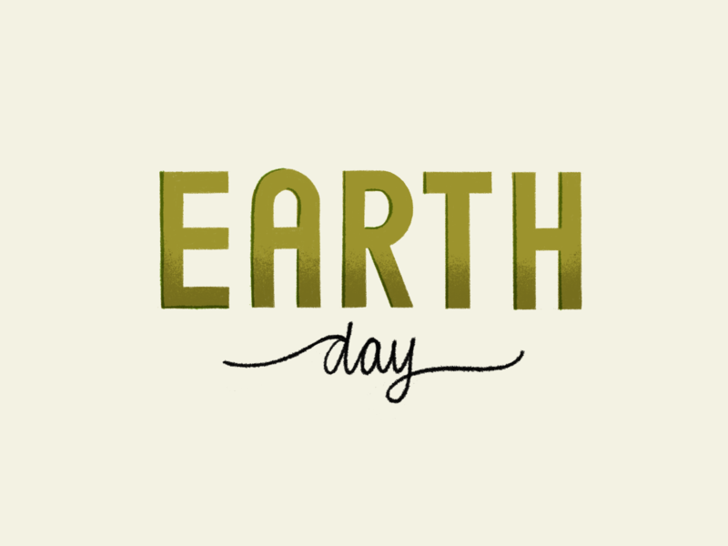 Earth Day Typography texture green custom typography true grit texture supply custom type typography type earth day