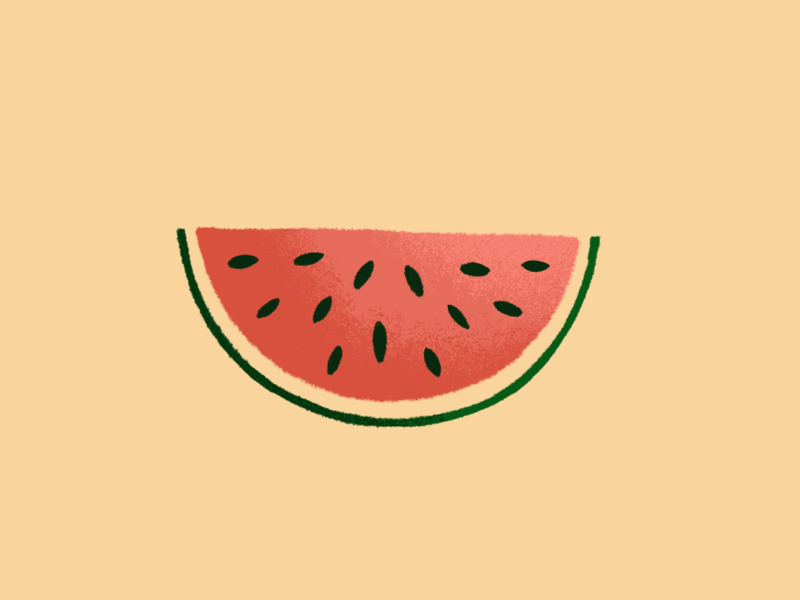 Watermelon yum fruit pink green seeds watermelon texture design illustration