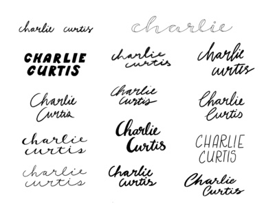 Charlie lettering type hand drawn hand lettering sketches typography hand drawn typography hand drawn type handlettering