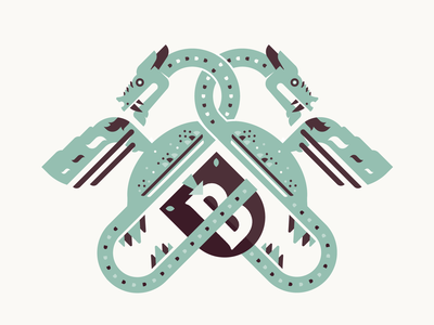 Family Crest myth logodesign norway shield fire dragon logo design logo crest logo crest