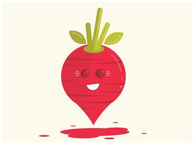Radish produce character raw fresh vegetables food radish