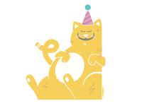 Anniversary Cat