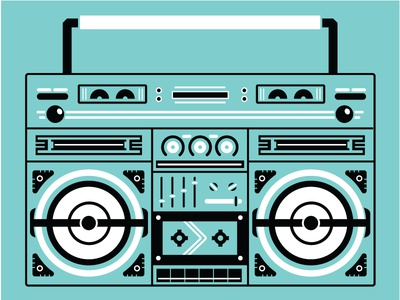 BOOM jams hip hop music radio boombox