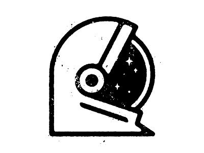 Astronaut helmet stars space astronaut texture spot illustration