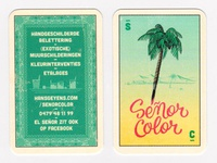 Señor Color businesscard