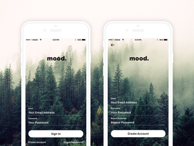 Mood Photo Feed App