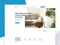Vacaycamp Website Header Design