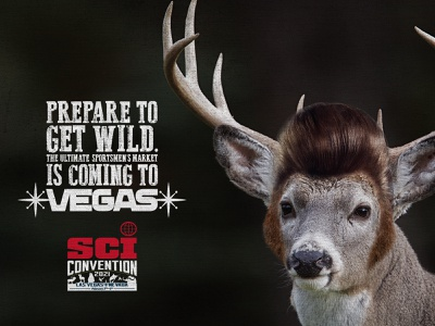 Thank You, Thank You Very Much las vegas advertising type 2021 convention hunting deer elvis