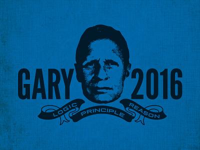 Gar-Bear america usa blue vote politics election 2016 johnson gary