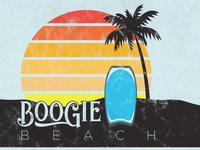 Boogie Beach Flag
