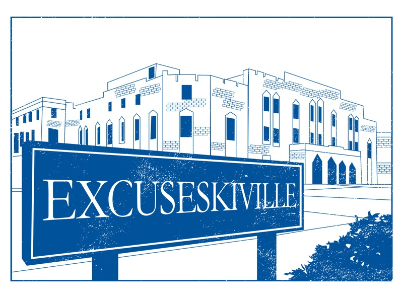 Excuseskiville u hoops duke heels white blue rivalry college basketball carolina unc