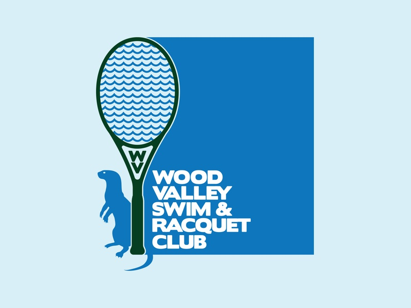WV1 type otter green blue club racquet swim wood valley nc raleigh
