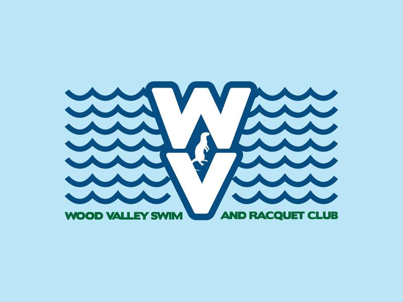 WV2 type green blue swim otter raleigh