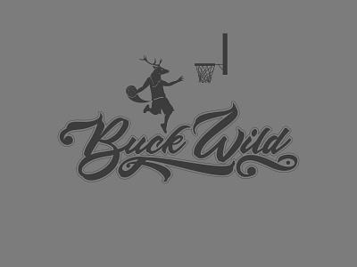 Buck Dunk type script hype sports dunk basketball wild buck