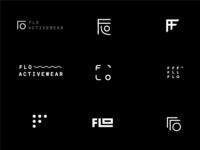 Flo Activewear Logo Explorations
