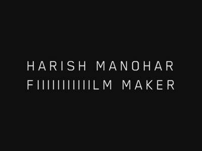 Logotype for a Film Maker film film making logo design inspiration logotype clean identity design photography typography logo branding minimal