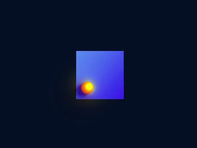 Pre-loader vietnam animation yellow blue jump dot cube motion idea preloader