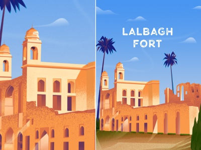 Lalbagh Fort (South gate) lalbagh fort design bangladesh degital drawing degital art art illustration art illustration vector