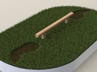 Balance Beam - Solidworks render