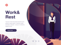Illustrations/Work&rest