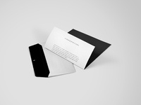 Envelope with letter brand mockup