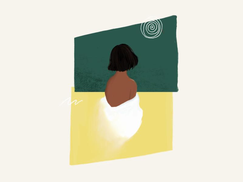 Grasslands in the sky ipad pixel pixel art procreate procreate app procreate art concept minimal branding art design illustration