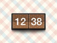 A Clock Widget
