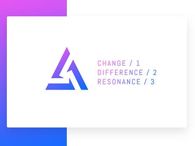 010917 card gradient alt-j altj symbol triangle delta logo
