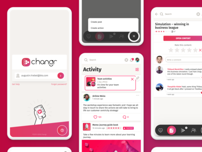 Changr — product design