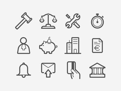 Payetafacture.com Icons set 2