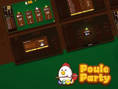 Poule Party — billiard dashboard