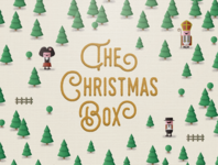 The Christmas Box — illustration & packaging