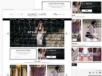 eCommerce for Spottedonceleb.com