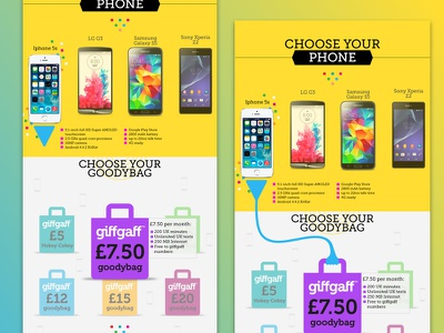 giffgaff interaction colour giffgaff user interface e-shop marketing landing page e-commerce ui