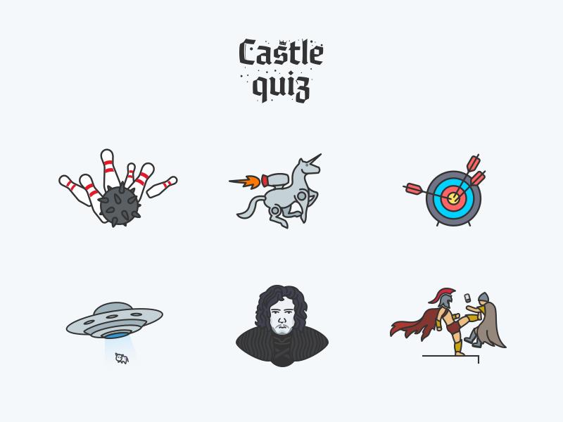 Castle quiz   achievements