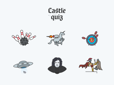 Castle Quiz — Achievements