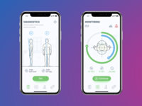 Medical Mobile App UI UX