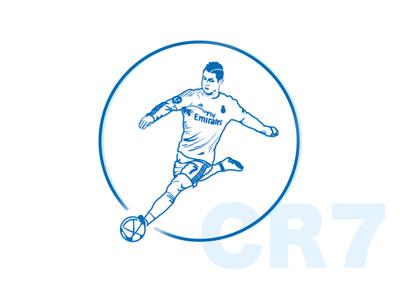 Cristiano Ronaldo vector art..!!