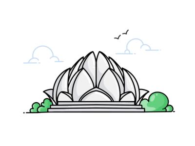 Lotus Temple...!!