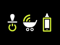 Children & Technology Icons