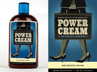 Power Cream Front