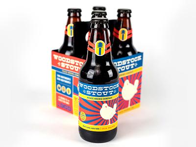 Woodstock Craft Beer vintage packaging photography craft beer branding beer woodstock