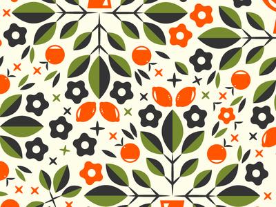 Bouquet Pattern