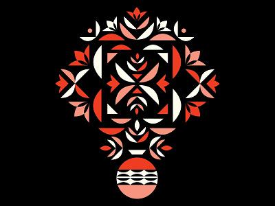 Bouquet #2 geometric pattern vase floral pattern vector flowers flower vector pattern pattern geometric bouquet series bouquet
