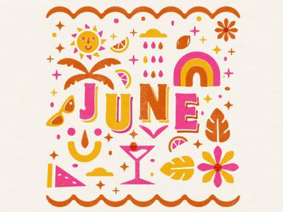 June Illustration