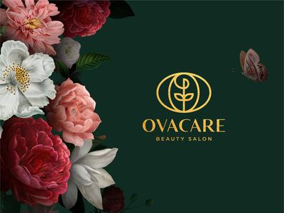ovacare | Logo Design luxurious beauty letter o logo stylish elegant beauty logo luxury branding love luxury brand cosmetics brand graphicdesign logo beauty luxury